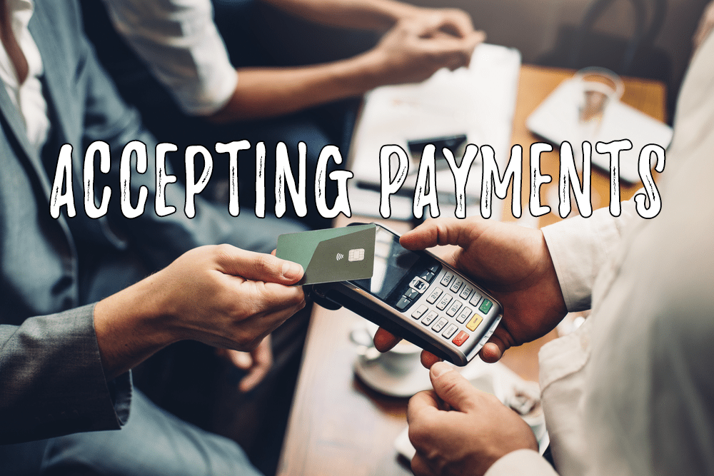 Accepting Payments for MLM