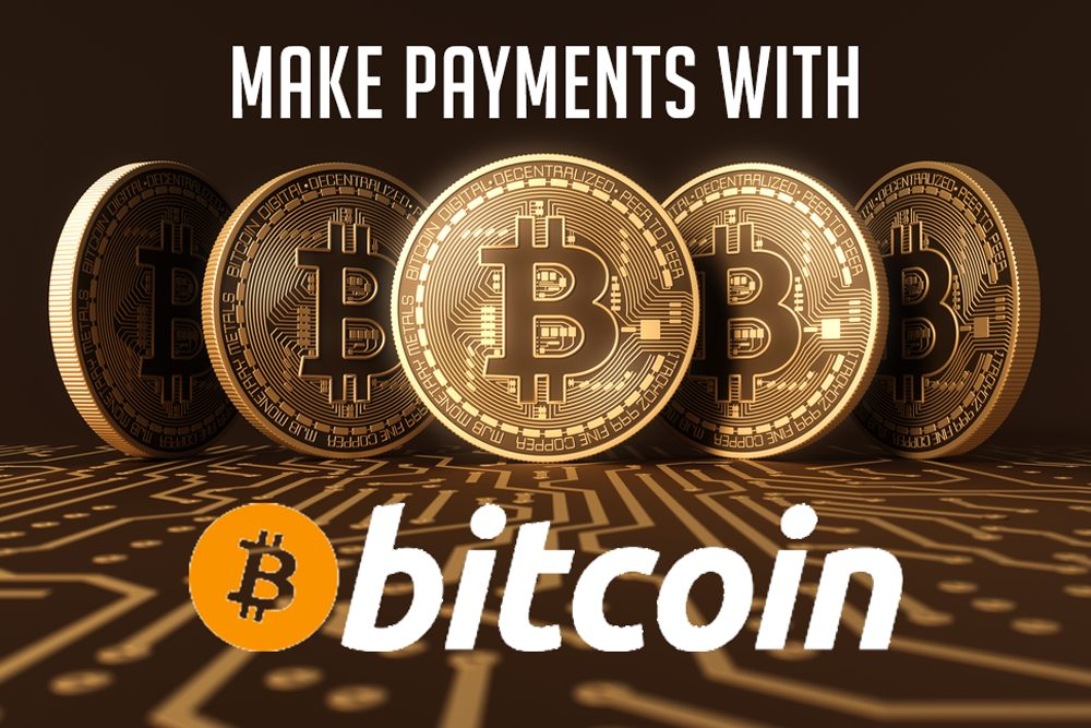 Make Payments with BitCoin