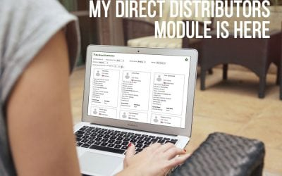 My Direct Distributors Module Has Arrived!