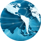 International Circle Icon