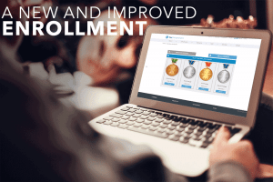 New Enrollment Page