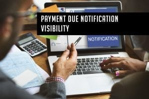 Payment Due Notification