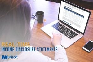 Real Time Income Disclosure