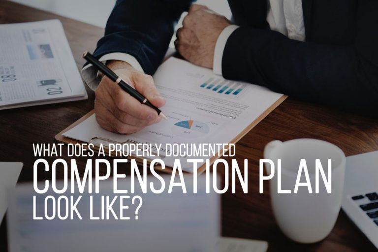 What Should A Compensation Plan Look Like?