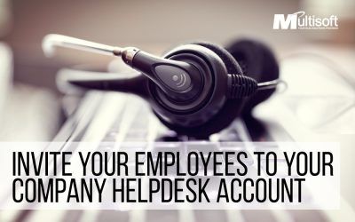 Invite New Employees To Your Company Helpdesk